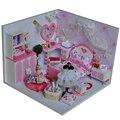 Handmade Doll House Furniture Miniatura Diy Doll Houses Miniature Dollhouse Wooden Toys For Children Grownups Birthday Gift TW2