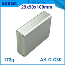 4pcs/lot new supplier and fashion design aluminum extrusion profiles for GPS tracker 29*90*100mm