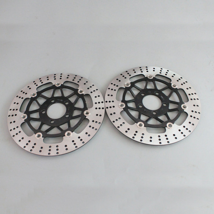 2 pieces motorcycle Front Disc Brake Rotor Scooter Front Rear Disc Brake Rotor for KAWASAKI ZZR400 ZXR400 ZRX400 ZZR250