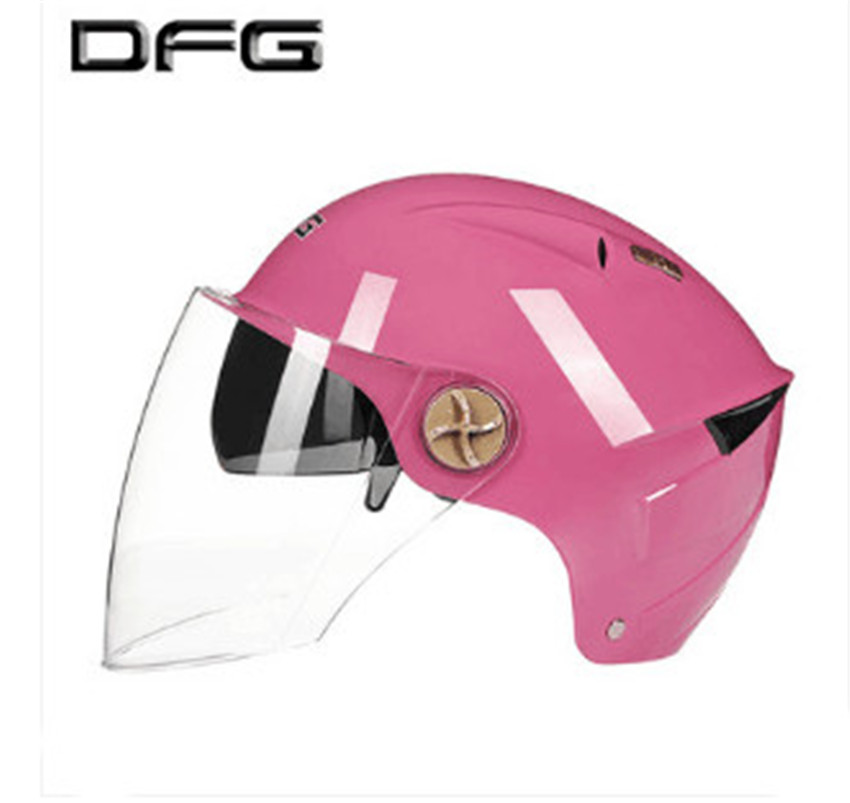 2018 Helmet Motorcycle Motorbike with one more Lens Summer Open Face Helmet Moto capacete para motocicleta casco free size