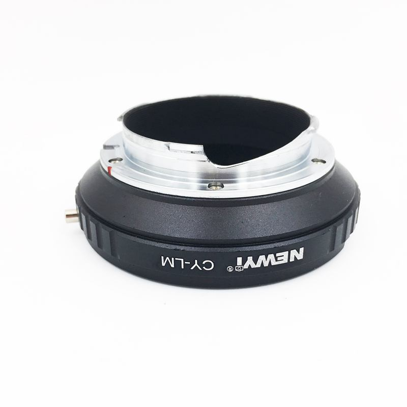 Image 4 - NEWYI CY LM adapter for Contax CY Lens to Leica M9 M8 with TECHART LM EA7 camera Lens Converter Adapter Ring-in Lens Adapter from Consumer Electronics