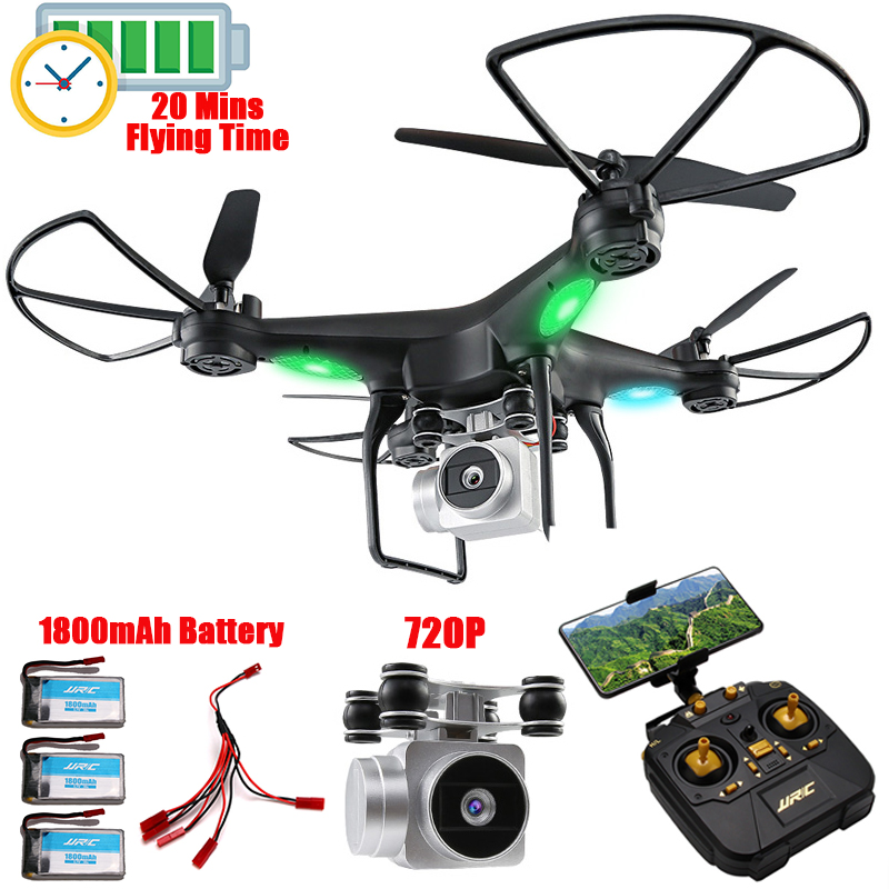 Altitude Hold RC Drone Remote Control Quadcopter With 720P Wifi FPV Camera RC Helicopter 20 mins Professional Dron Quadrocopter