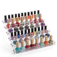 Fashion Detachable 6 Tier Organizer Lipstick Display Stand Holder Nail Polish Rack Makeup Cosmetic