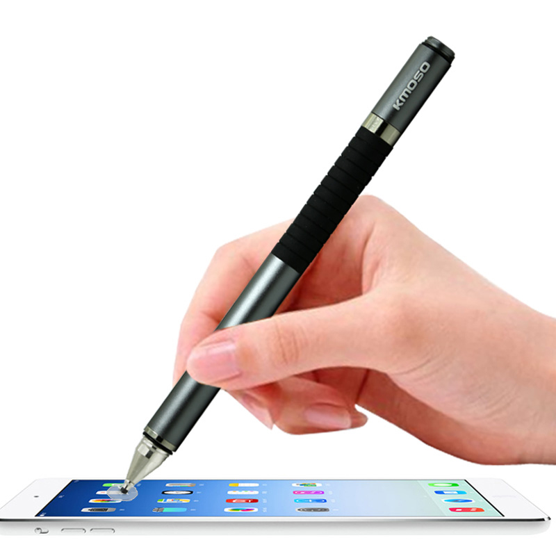 fashion 2 in 1 capacitive mobile phone tablet pc metal touch screen pen tactile sensitive stylus. Black Bedroom Furniture Sets. Home Design Ideas