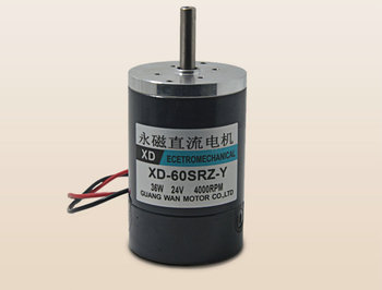 DC12V/24V XD-60SRZ-Y 36W 3000RPM micro permanent magnet dc motor adjustable speed electric tools DIY accessories
