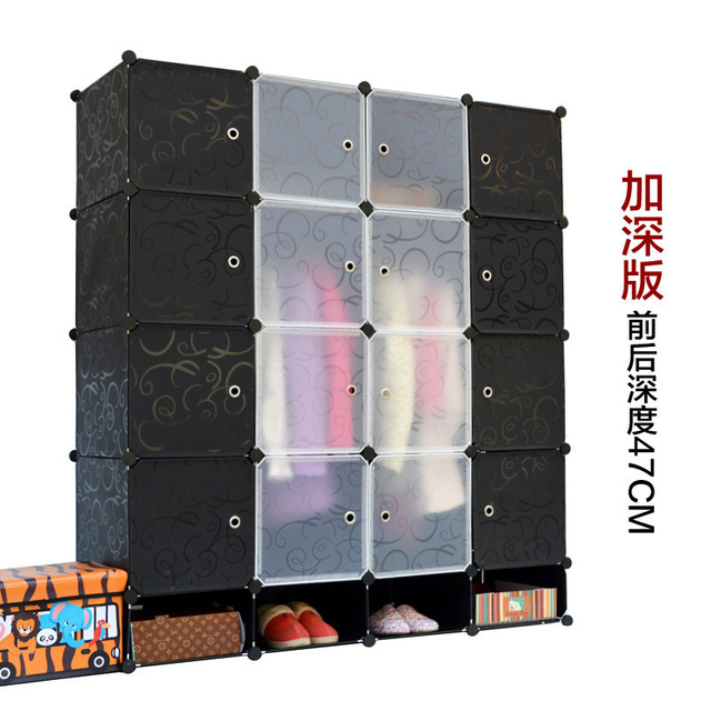 16 Cubes Diy Armoire Corner Cabinets Freestanding Wardrobes Closet Storage  Ideas Diy Wardrobe Closet Plastic Wardrobe