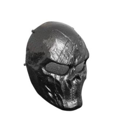 SPORTSHUB Cool Skeleton Zombie Skull Warrior Paintball Mask Airsoft - Laskmine - Foto 4