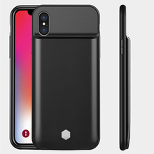 5000mAh Battery Charger Case For iPhone X 3500mAh Ultra Thin External Backup Power Bank Back Cover