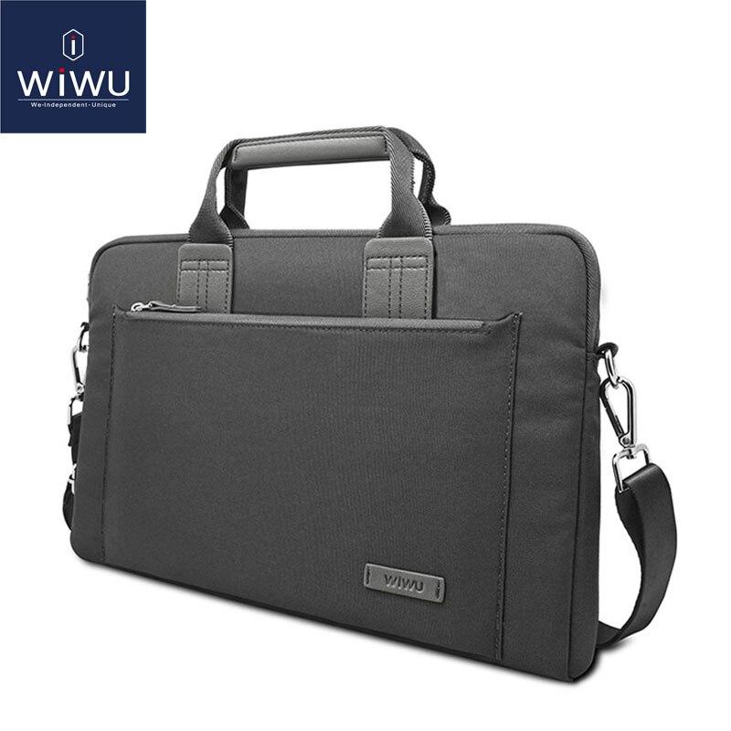 WiWU Laptop Bag Case for MacBook Air 13 Pro 13 Waterproof Notebook Bag for Dell 14 Laptop Messenger Bag for MacBook Pro 15 Case