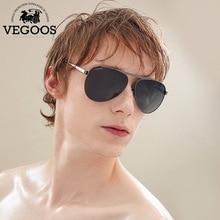 VEOOGS High Quality New Brand Designer Stainless Steel Cool Polarized Sports Men Pilot Sunglasses UV Protect Sun Glasses #3078