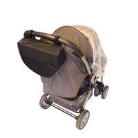Insulated Stroller Organizer Side Sling Stroller Bag Fits All Strollers
