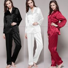 Womens Silk Satin Pajamas Set Pajama Pyjamas Set Sleepwear Loungewear S M L XL 2XL 3XL