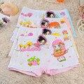 Atacado 2015 nova crianças dos desenhos animados calcinhas crianças meninas cuecas boxers para a menina confortável modal cueca infantil 10 pçs/lote