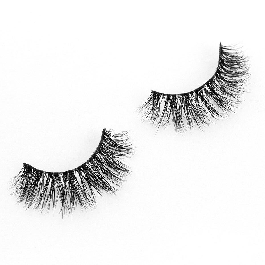 6246414773c Yükle (800x800)YOKPN Style For Winged Natural 3D Eyelash Short Brown Mixed Black  False Eyelashes Eye Tail Elongated Faux Real Fake Eye Lashes-in False ...