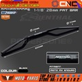 "Renthal preto 1 1/8 ""Fat Bar 28mm Guidão Handle Bar Para Motocicleta Motocross Pit Dirt Bike ATV KTM EXC CRF YZF RMZ KLX"
