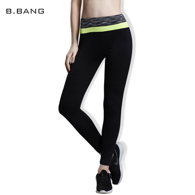 89a2099aa55ac2 B.BANG Brand Sexy Women Leggings Capris High Elastic Casual Legging Slim  Pants Quick Dry Woman's Trousers