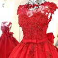Personalización avanzada red vestidos de noche un line espalda abierta cap mangas Piso-Longitud Del Partido Vestido Largo Vestido Longo De Festa 2017