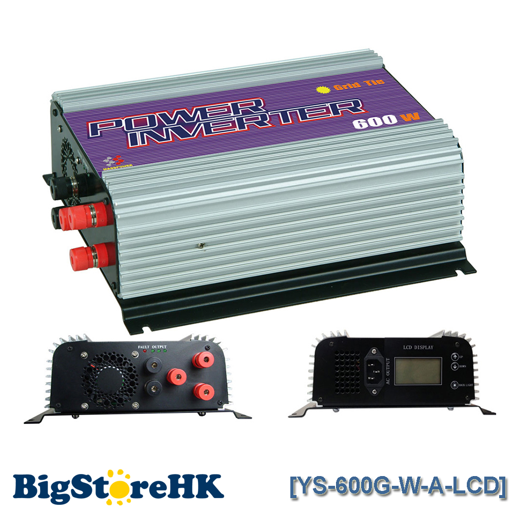 600W LCD Display Wind Turbine MPPT Pure Sine Wave Inverter for 3 Phase AC To AC Build In Dump Load Controller maylar 2000w wind grid tie inverter pure sine wave for 3 phase 48v ac wind turbine 90 130vac with dump load resistor