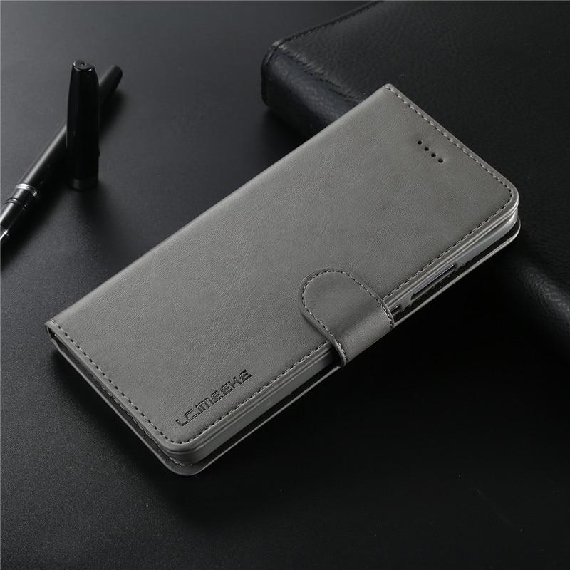 J6 Plus Case For Samsung Galaxy J6 2018 Case Leather Vintage Phone Coque Samsung J6 Plus Case Flip Wallet Case On J6 Prime Cover