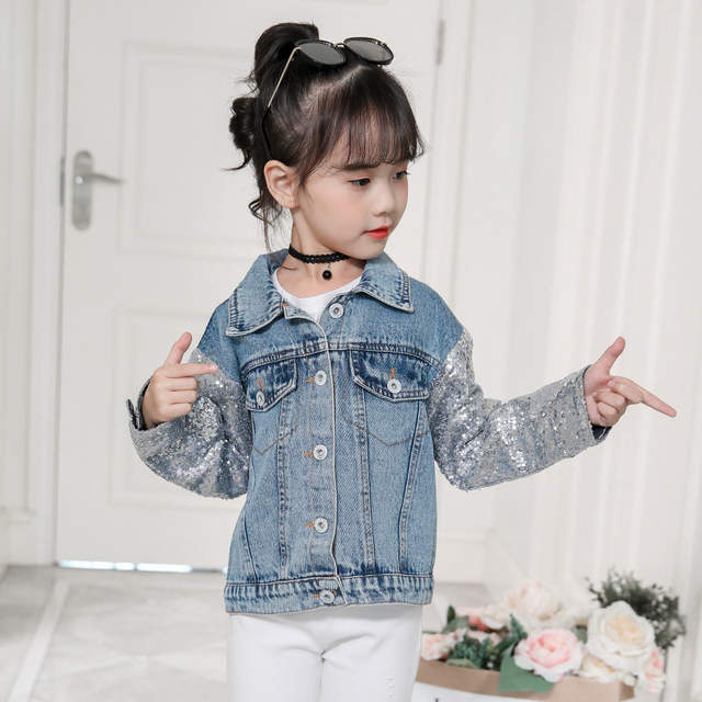683556783941 Unicorn Denim Jacket for Girls Coats Children Clothing Autumn Baby Girls  Clothes Outerwear Jean Jackets & Coats for Child Girls-in Jackets & Coats  from ...