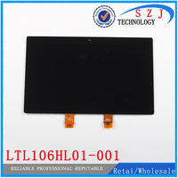 New 10 6 Inch For Microsoft Surface PRO 2 1601 LTL106HL01 001 Touch Digitizer LCD Screen
