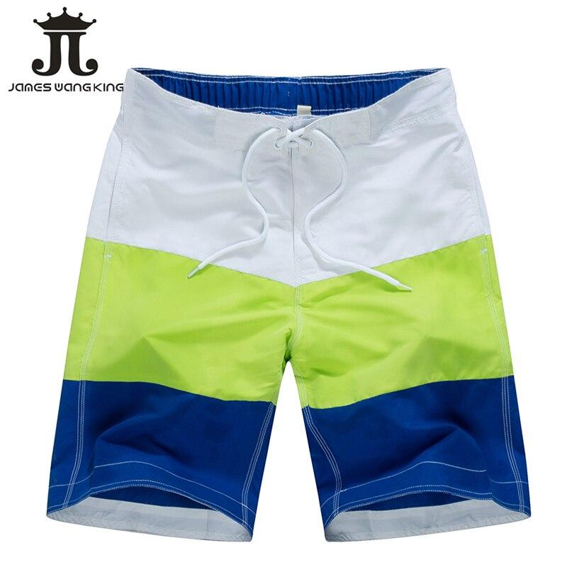 Spring New 2019 Men Beach   Shorts   fashion striped   Board     Shorts   Quick-drying   shorts   for man   short   masculino praia size M-3XL 1509