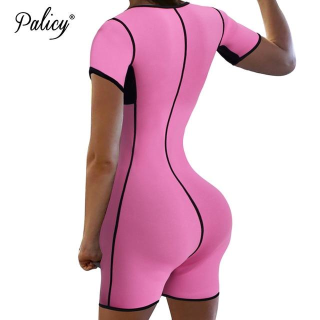 5775f45f0e Full Body Shapers Waist Trainer for Women Slimming Bodysuit Modeling Strap  Adjustable Fat Burn Girdle Tummy Control Butt Lifters
