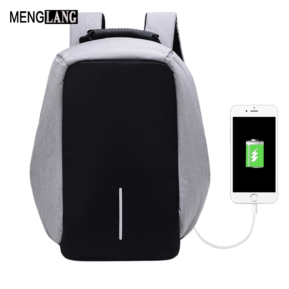 Men Anti-theft Backpacks With USB Charge Laptop Women Backpack for Men Big Capacity Waterproof Male Female Travel Backpack sopamey usb charge men anti theft travel backpack 16 inch laptop backpacks for male waterproof school backpacks bags wholesale