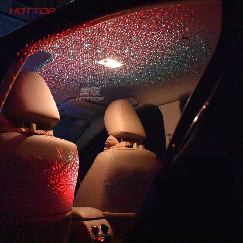 Plafonnier de ciel étoilé de contrôleur de lampe d'air de toit de voiture