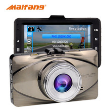 Dashcam Full HD 1080 P 170 градусов Широкий формат автомобиля видео Регистраторы видеокамера 30 кадров в секунду Авто Камера Регистраторы g-сенсор автомобильный черный ящик