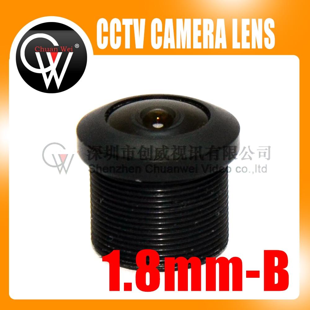 5pcs/lot 1.8mm Lens M12 CCTV Board Lens For CCTV Security Camera Free Shipping