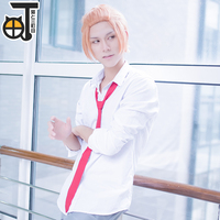 Free shipping anime QI FANG from SQ cosplay costume for male