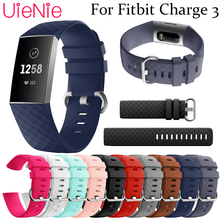For Fitbit Charge 3 frontier/classic Silicone replacement wristband strap smart watch accessories