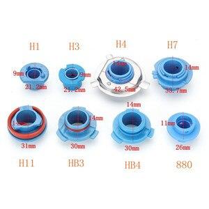 Image 5 - Bombilla de faro LED de larga vida útil, Universal, alta calidad, adaptador de Base, H1/H3/H4/H7/H11/HB3 #279840, 2 uds.