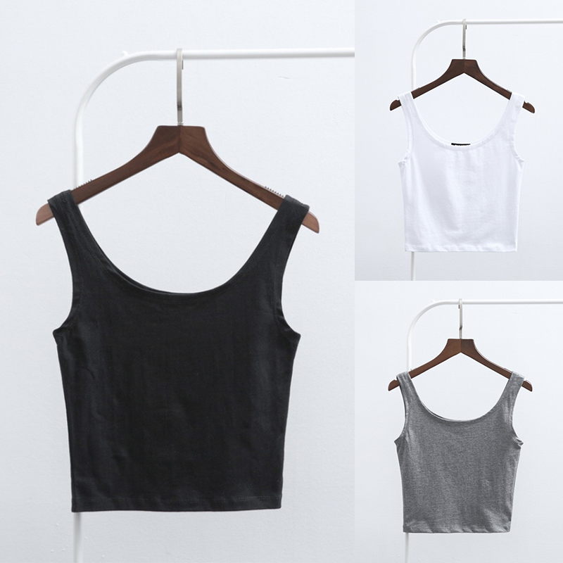 3d87867f3bf428 Women s Tops Sexy Bralette Bralet Bustier Crop Cami Tank Tops European  style elasticity Sleeveless Vest-in Camis from Women s Clothing    Accessories on ...