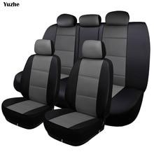 Yuzhe Universal Auto รถหนังที่นั่งสำหรับ Hyundai IX35 IX25 Sonata Santafe Tucson ELANTRA Accent รถยนต์อุปกรณ์เสริม