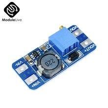 10PCS DC-DC Konverter MT3608 Für Arduino Board Boost Booster Power Gelten Modul Power Step Up Modul MAX ausgang 28V 2A