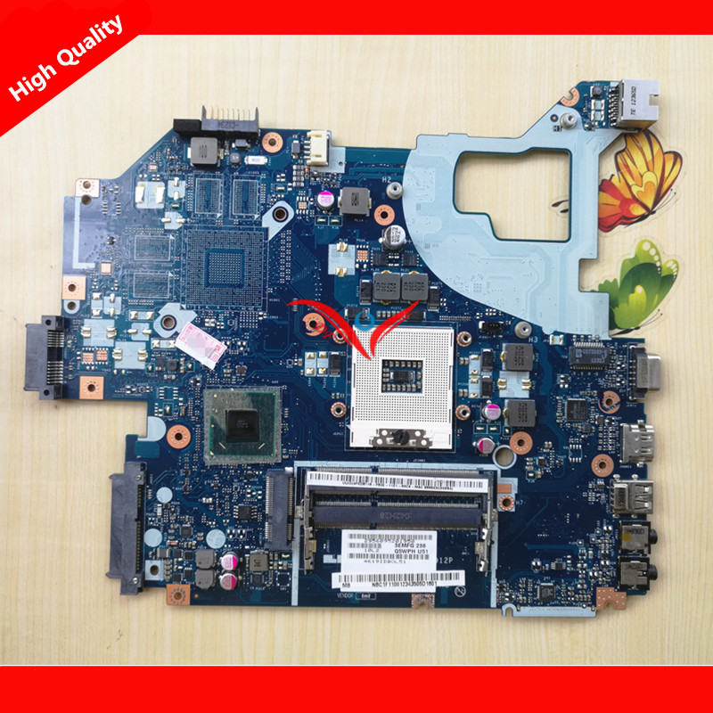 LA-7912P for Gateway NE56R V3-571G E1-571G NV56R laptop motherboard Q5WVH LA-7912P NBC1F11001 HM70 PGA989 DDR3 Fully tested