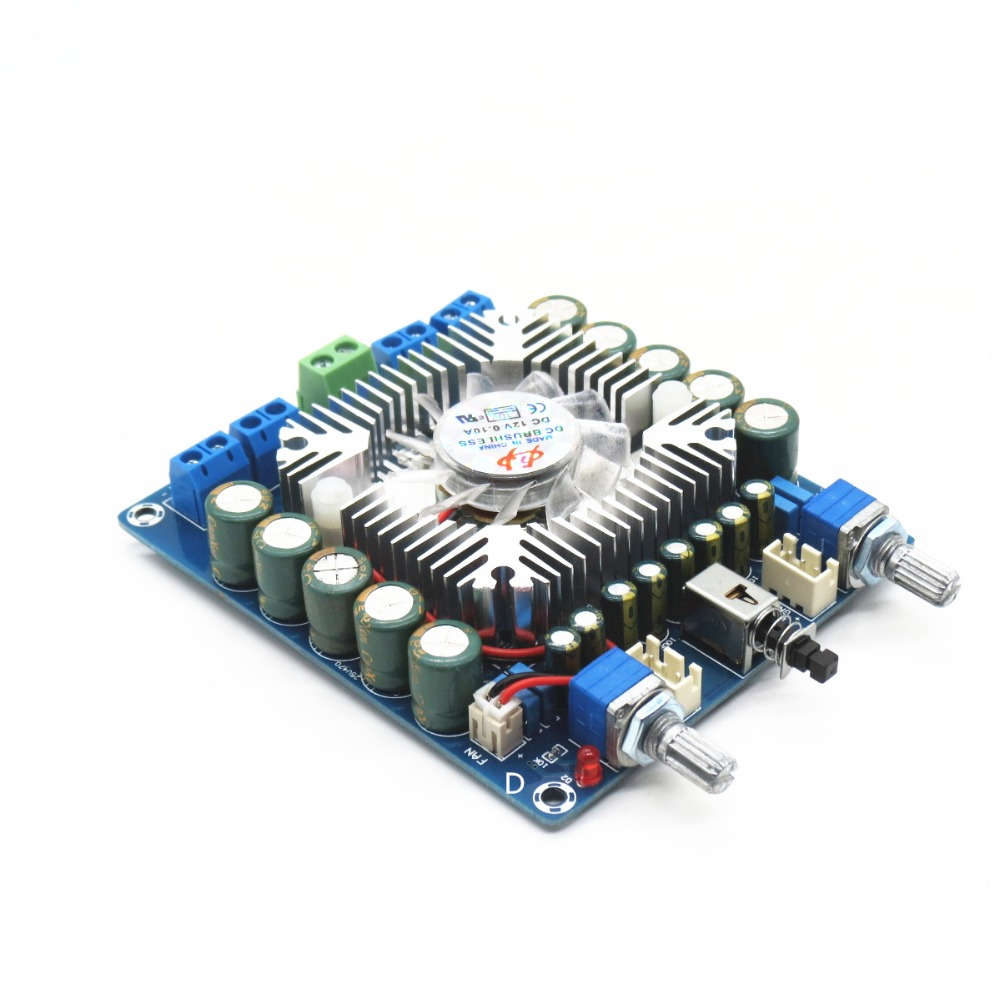 TDA7850 4 channel car amplifier board 4 x 50W HiFi amplifier small distortion low noise anti interference ability