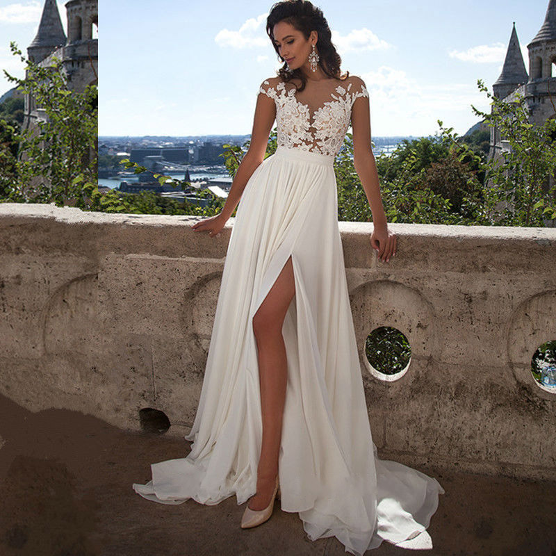 cheap simple beach wedding dresses 2017 vestido de noiva