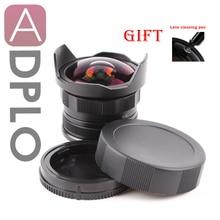 APS-C CL-Mil7528N 7.5mm F2.8 후시 필름 FX NEX Micro 4/3 EOS M 용 어안 렌즈 와이드 앵글 렌즈 슈트