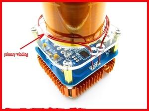 Image 5 - Diyキット30ワットミニ音楽テスラコイルプラズマスピーカーテスラアーク発生器ワイヤレス伝送アンプ