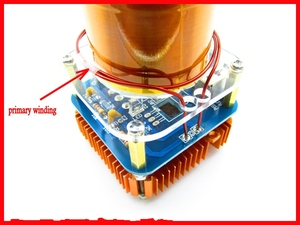 Image 5 - Diy Kits 30W Mini Music Tesla Coil Plasma Speaker Tesla Arc Generator Wireless Transmission Amplifier