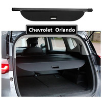 For Chevrolet Orlando 2018 2019 2020 Rear Trunk Security Shield Cargo Cover High Qualit Car Accessories Black & Beige