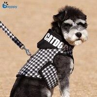Small Medium Hundegeschirr Kragen Hund Hoodie Weste Komfortable Nylon Weste Neue Pet Produkte Professionelle Welpen Hundegeschirr Leine Set