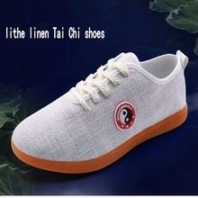 Новинка, китайская обувь для кунг-фу, Тай Чи, натуральная льняная ткань Wu shu для мужчин или женщин, товары для боевых искусств, обувь для выступлений