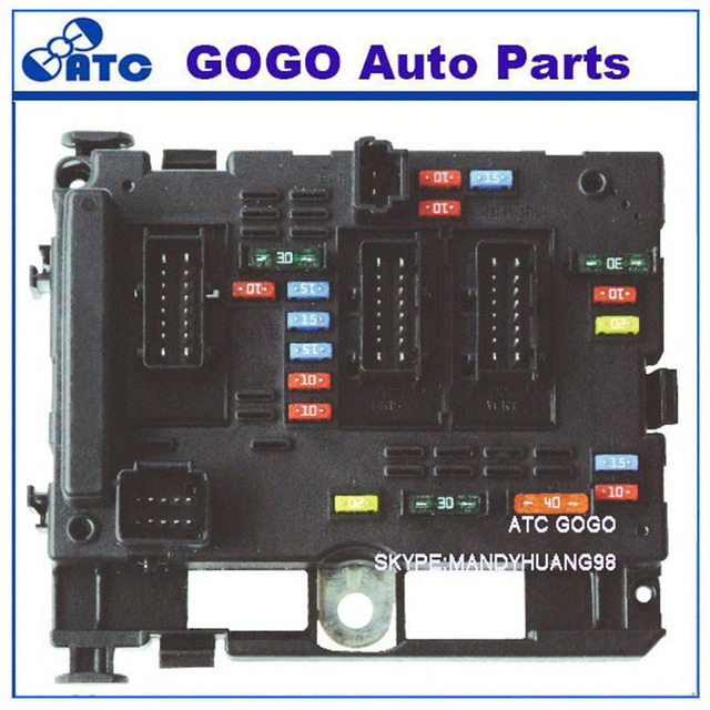 free shipping fuse box unit assembly 9657608580 for peugeot 307 206 rh aliexpress com fuse box peugeot 307 hdi fuse box peugeot 307 hdi