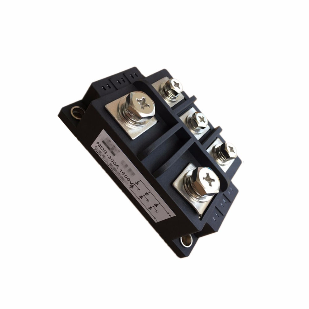 Three - phase rectifier bridge module  MDS 200A 1600V   ,300A 1600V ,500A 1600V factory direct brand new mds200a1600v mds200 16 three phase bridge rectifier modules