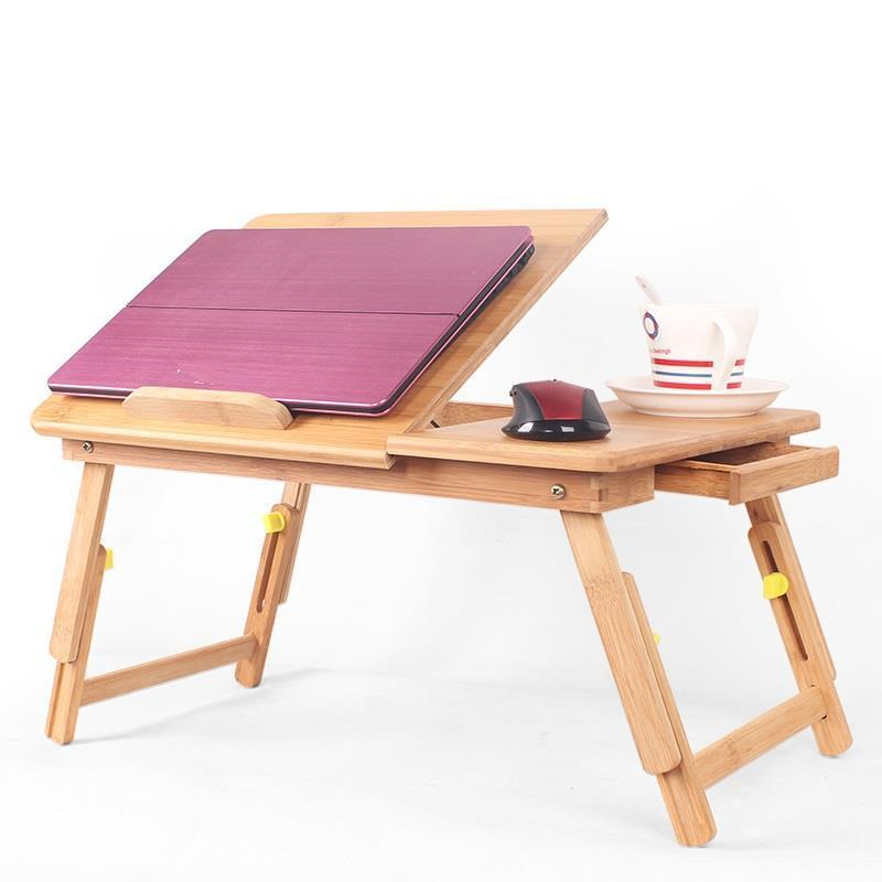 escrivaninha lap bed tray small stand notebook portatil office furniture escritorio tablo mesa laptop study desk computer table Office Furniture Biurko Lap Bed Tray Mesa Dobravel Escritorio Mueble Bambu Stand Tablo Laptop Study Table Computer Desk