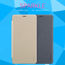 For Xiaomi mi max 3 Case Cover Flip Cases High Quality Luxury Leather Smart Sleep Function